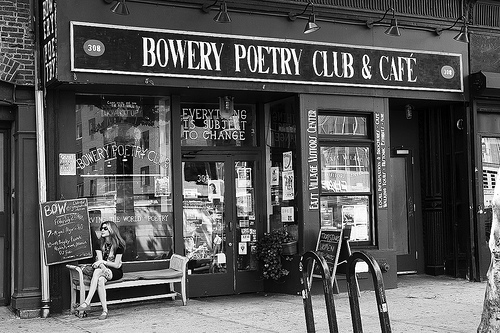 Live from the Bowery Poetry Club(audio)
