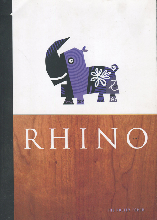 """The First Questions"" published in RHINO 2010"